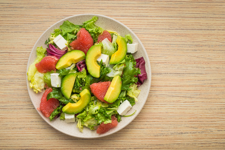 Salat-s-grepem-a-avokadem