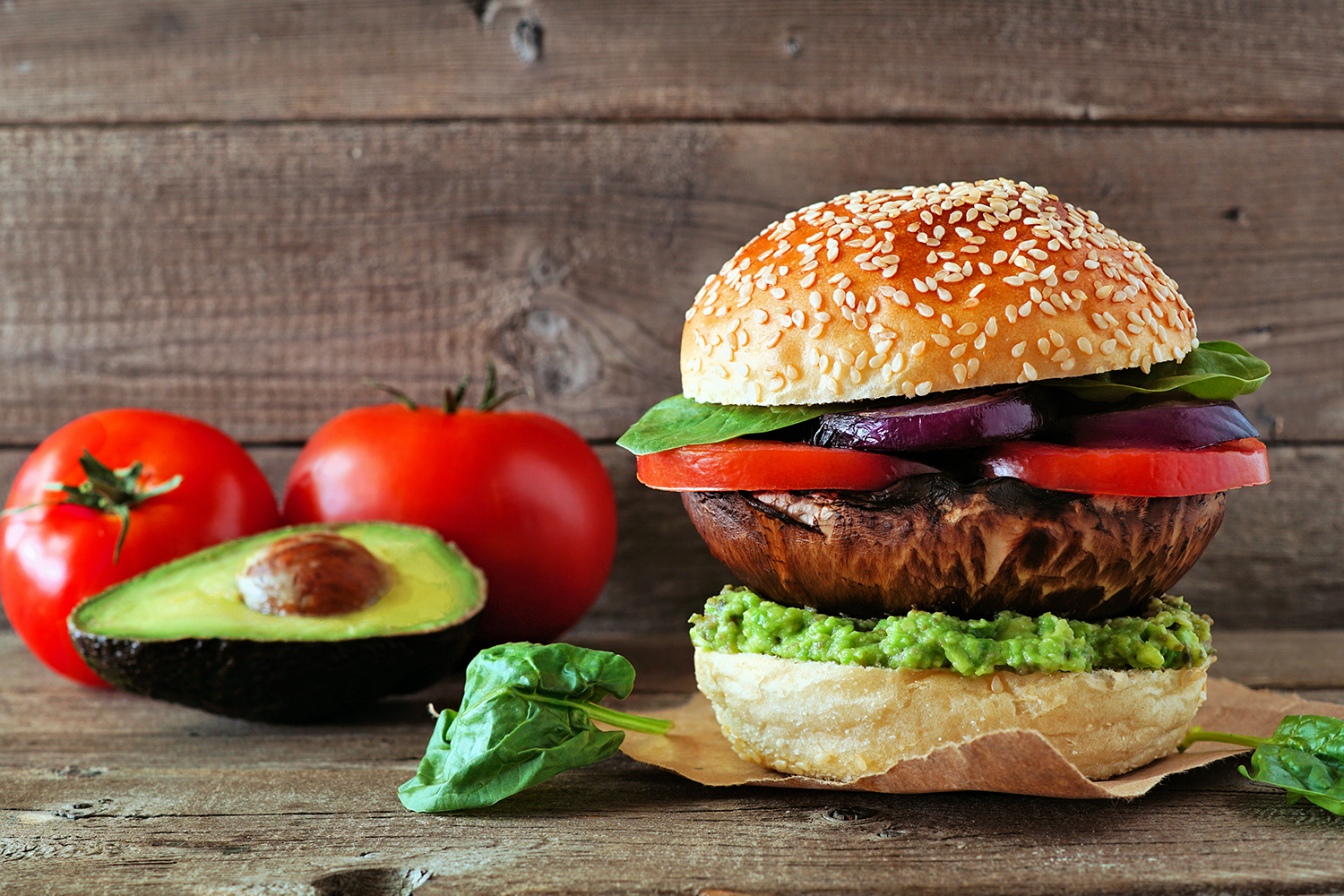 Vegan-burger