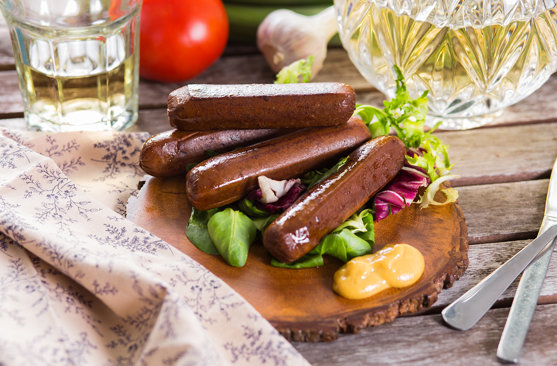 Vegan-klobasky