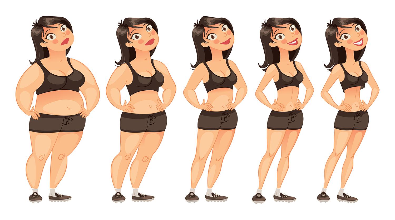 zhubnout-postupne-postava